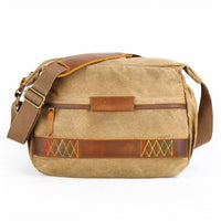 Vintage Camera Messenger Bag WEPRO The Store Bags Khaki