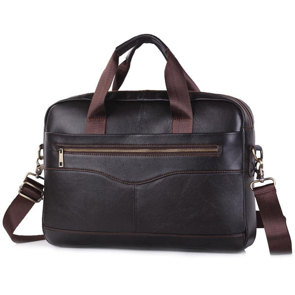 Faux Leather Laptop Bag ERIN