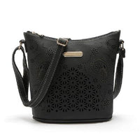 Boho Leather Tote ERIN The Store Bags Black