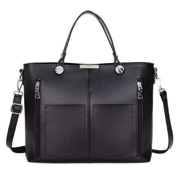Work Tote Bag Laptop ERIN The Store Bags Black