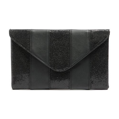 Sequin Envelope Clutch ERIN The Store Bags Black