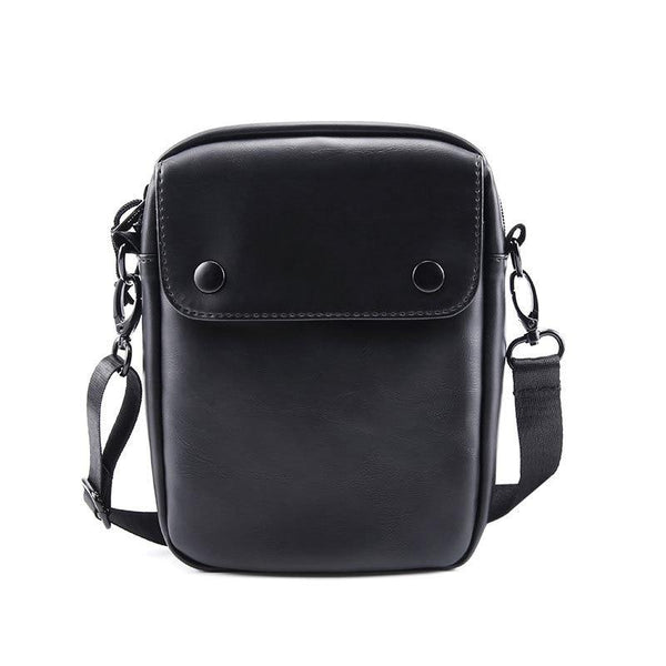 Men's Small Leather Crossbody Bag ERIN