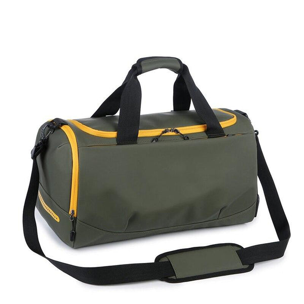 Gym Bag Laptop Compartment HERIN The Store Bags Yellow