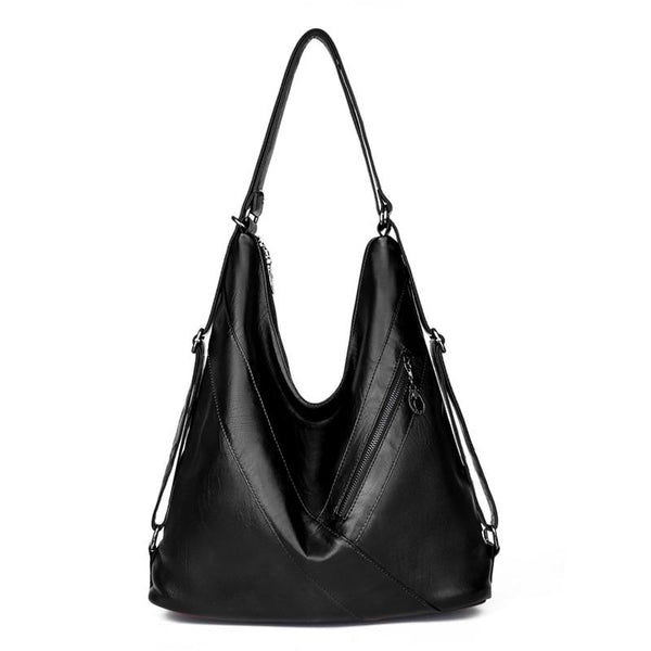Large Hobo Tote Bag ERIN The Store Bags Black