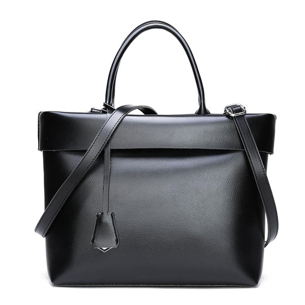 Women's Leather Work Bag The Store Bags Black