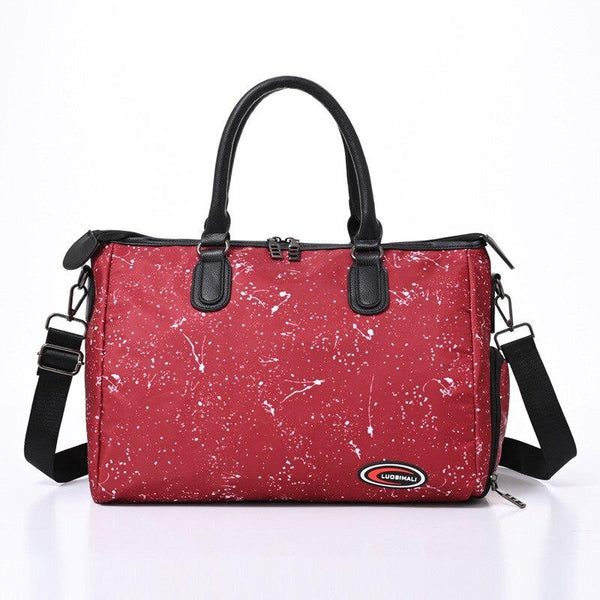 HERIN Duffel Gym Bag - red