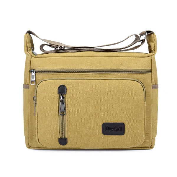 Khaki Messenger Bag ERIN