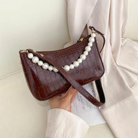 Leather Baguette Shoulder Bag ERIN The Store Bags