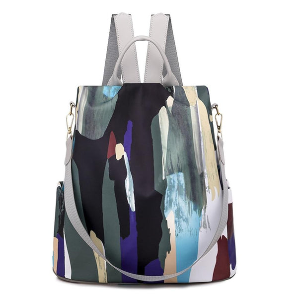 Colorful Backpack Purse ABIDA The Store Bags Gray