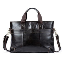 LAORENTOU Document Bag Leather The Store Bags coffee