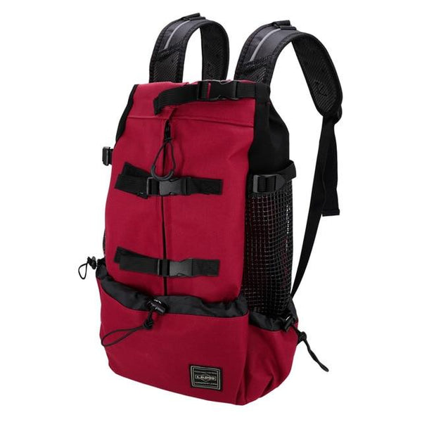 Dog Hiking Backpack Carrier The Store Bags Red XL