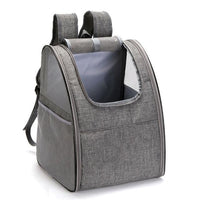 Pet Travel Carrier Backpack The Store Bags Gray