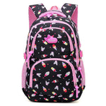 POSPSY Elementary School Backpack The Store Bags Black