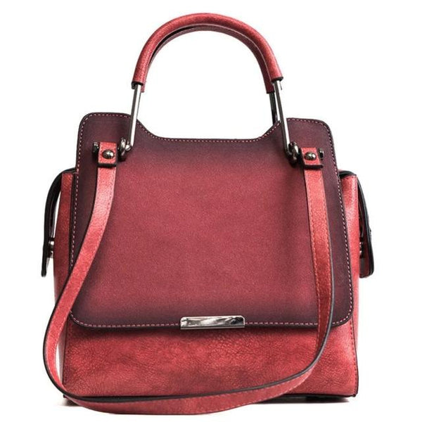 SHIRLA PU Leather Bag The Store Bags Red