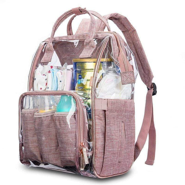 SOBO Clear Diaper Bag The Store Bags