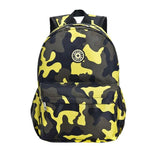 SPORK Camouflage Kindergarten Backpack The Store Bags Yellow