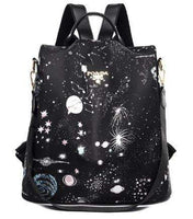 Women POABA Anti Theft Bag The Store Bags Starry Sky