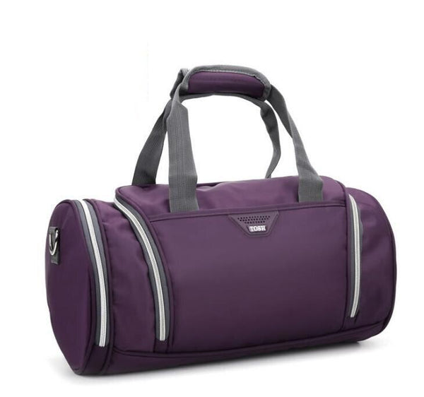 Round Duffle Gym Bag TOSH The Store Bags Purple