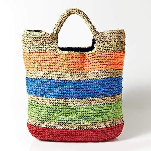 TSB Casual Straw Beach Tote Bag The Store Bags