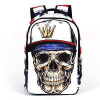 TSB Skull School Backpack The Store Bags Style D