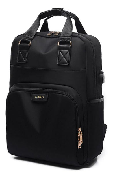 TSB Women's Laptop Backpack - Black - The Store Bags