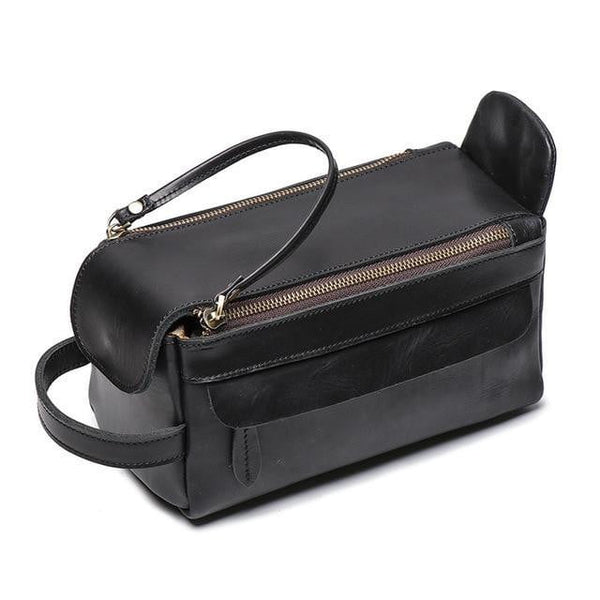 Masson Luxury Men's Toiletry Bag The Store Bags Black