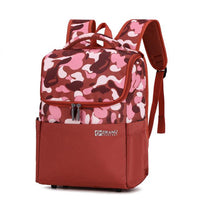 ZIRANU Kids School Backpack The Store Bags Red