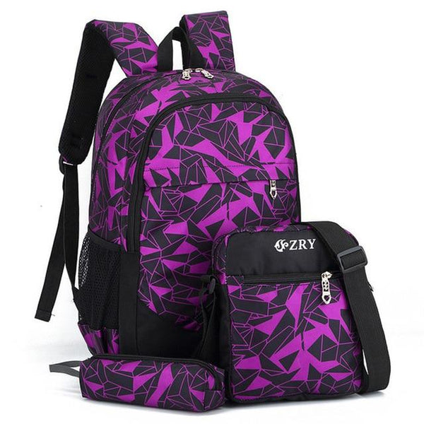 ZRY Elementary School Backpack The Store Bags Purple