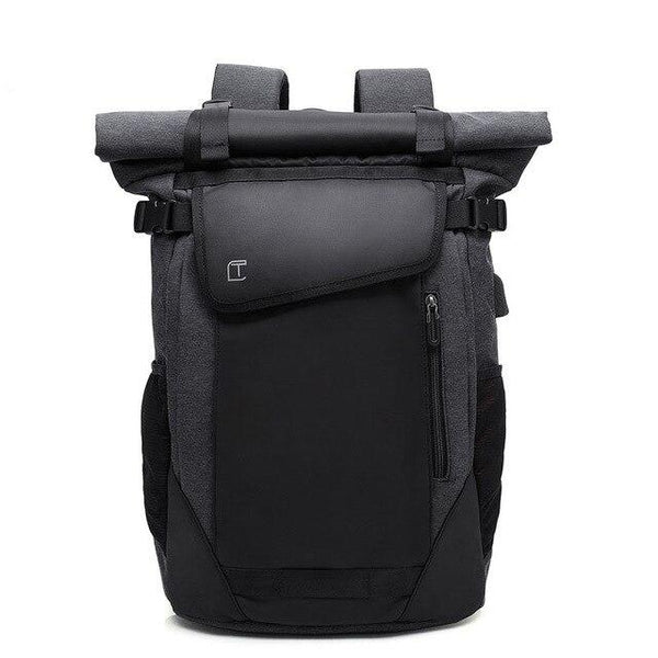 PEKA Roll Top USB Backpack The Store Bags