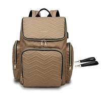 TSB USB Diaper Backpack The Store Bags Khaki