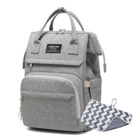 FAMICARE Diaper USB Backpack The Store Bags Grey