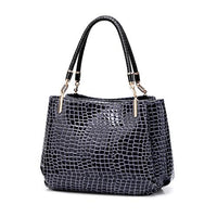 TSB Alligator Casual Tote Shoulder Bag The Store Bags Blue