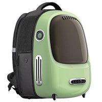 KENNEL Jet Set Pet Carrier Backpack The Store Bags Green