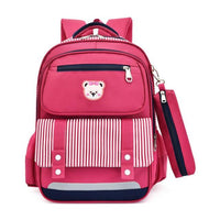 BAANS Preschool Backpack The Store Bags Deep Pink