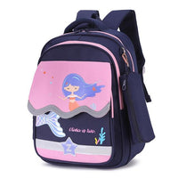 OLIV Grade School Bag The Store Bags Blue Pink