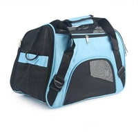 WODDY Soft Sided Pet Carrier The Store Bags Blue S