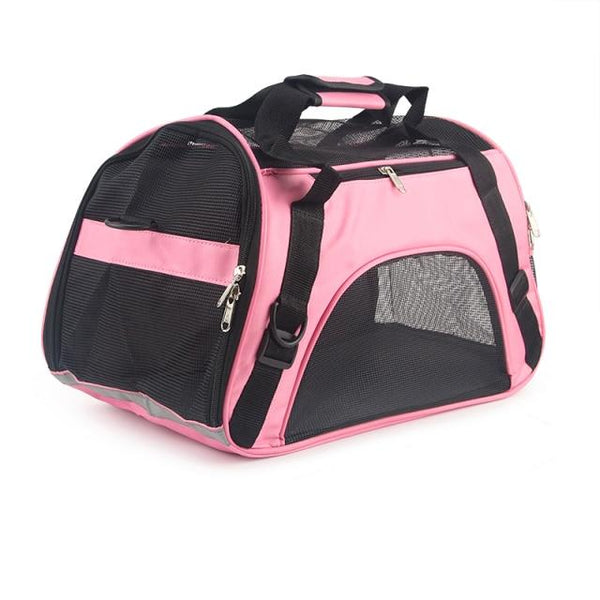 WODDY Soft Sided Pet Carrier The Store Bags Pink S