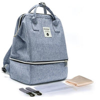 INSULAR Baby Diaper Backpack The Store Bags Blue