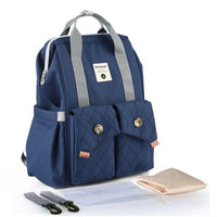 INSULAR Baby Travel Backpack The Store Bags Deep Blue