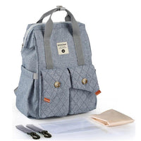 INSULAR Baby Travel Backpack The Store Bags Denim Blue