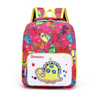 Dinosaur Kindergarten School Backpack The Store Bags Pink