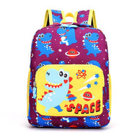 Dinosaur Kindergarten School Backpack The Store Bags Purple