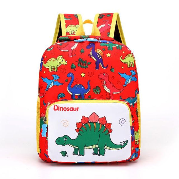 Dinosaur Kindergarten School Backpack The Store Bags Red