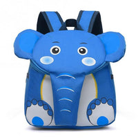 Elephant Kindergarten School Backpack The Store Bags Light Blue