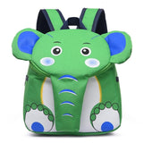 Elephant Kindergarten School Backpack The Store Bags Green