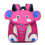Elephant Kindergarten School Backpack The Store Bags Pink