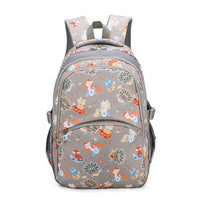 KOKO Animals Prints Elementary Student Backpack The Store Bags Gray