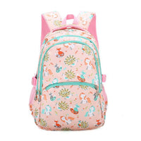 KOKO Animals Prints Elementary Student Backpack The Store Bags Pink