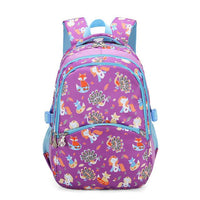KOKO Animals Prints Elementary Student Backpack The Store Bags Purple