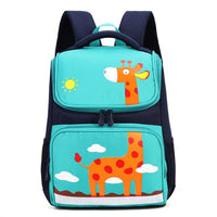 BANS Elementary Student Backpack The Store Bags Green giraffe